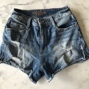 Arizona Jean co jean shorts with zips!